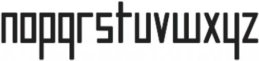 Manurewah otf (700) Font LOWERCASE