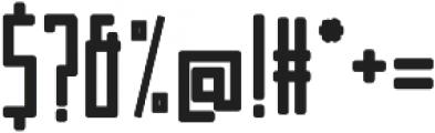 Manurewah otf (800) Font OTHER CHARS