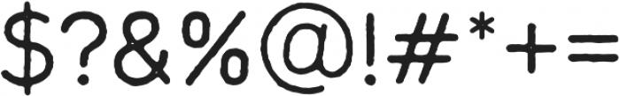Mara otf (400) Font OTHER CHARS