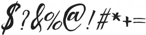 Marabella otf (400) Font OTHER CHARS