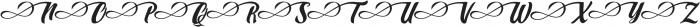 Marbelia Alternate I otf (400) Font UPPERCASE