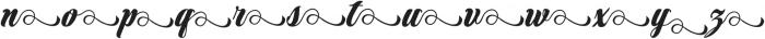 Marbelia Alternate I otf (400) Font LOWERCASE