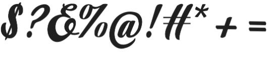 Marbelia Evolutions otf (400) Font OTHER CHARS