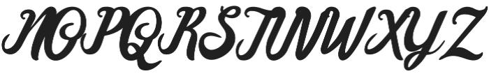 Marbelia Evolutions otf (400) Font UPPERCASE