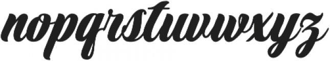Marbelia Evolutions otf (400) Font LOWERCASE