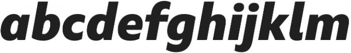 Marble Text Wide ExtraBold Italic otf (700) Font LOWERCASE
