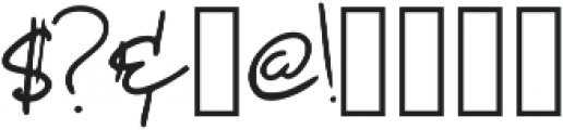 Marcela Regular otf (400) Font OTHER CHARS