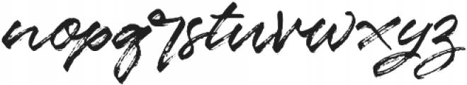 Marceline otf (400) Font LOWERCASE