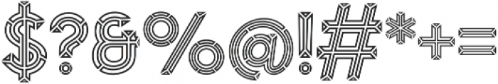 MarchOutline otf (400) Font OTHER CHARS