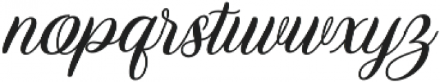 Marchanda Script Slant Regular otf (400) Font LOWERCASE
