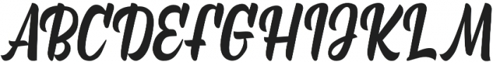 Marchelina Script otf (400) Font UPPERCASE