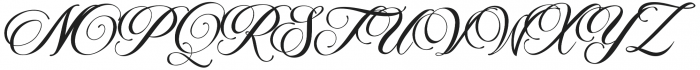 Marchell otf (400) Font UPPERCASE