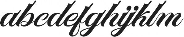 Marchell otf (400) Font LOWERCASE