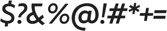 Marcher Alt Regular Italic otf (400) Font OTHER CHARS