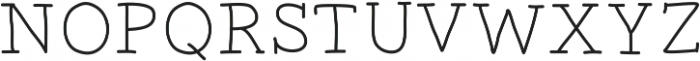 MarcusFont ttf (400) Font UPPERCASE