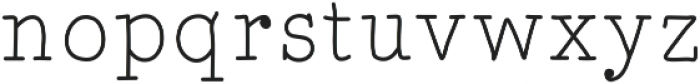 MarcusFont ttf (400) Font LOWERCASE