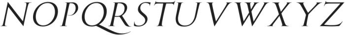MarcusTraianus-Italic otf (400) Font UPPERCASE