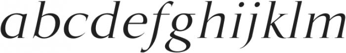 MarcusTraianus-Italic otf (400) Font LOWERCASE