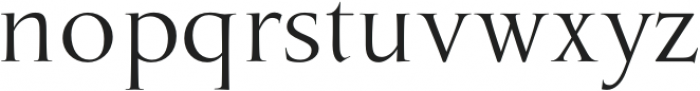 MarcusTraianus otf (400) Font LOWERCASE