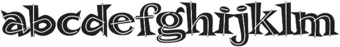 MardiParty AOE Regular otf (400) Font LOWERCASE