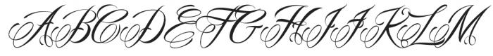 Mardian Pro otf (400) Font UPPERCASE