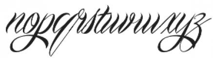 Mardian Pro otf (400) Font LOWERCASE