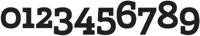 Marek Slab otf (700) Font OTHER CHARS