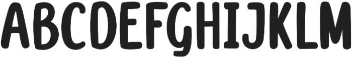 Mareline Sans Regular otf (400) Font LOWERCASE