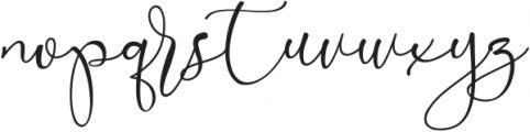 Marellia Script otf (400) Font LOWERCASE