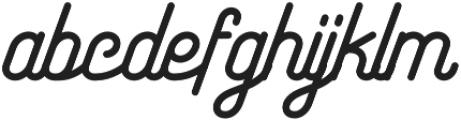 Maretha Script Regular otf (400) Font LOWERCASE