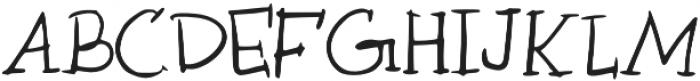 Marg otf (400) Font UPPERCASE