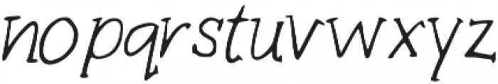 Marg otf (400) Font LOWERCASE
