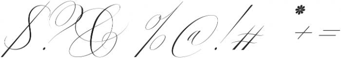 Margarita Script otf (400) Font OTHER CHARS
