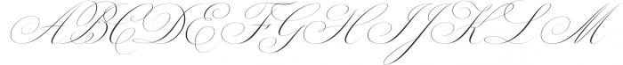 Margarita Script otf (400) Font UPPERCASE
