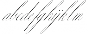 Margarita Script otf (400) Font LOWERCASE