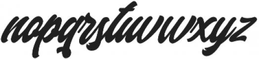 Margents otf (400) Font LOWERCASE