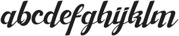 Margie otf (400) Font LOWERCASE