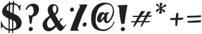 Margo Serif otf (400) Font OTHER CHARS