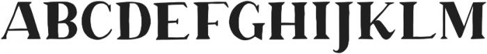 Margo Serif otf (400) Font UPPERCASE