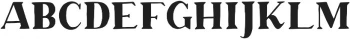 Margo Serif otf (400) Font LOWERCASE