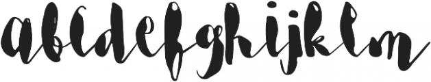 Margot & Margery Regular otf (400) Font LOWERCASE