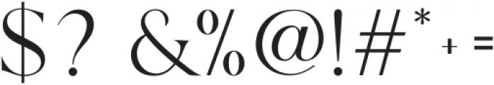 Margot-Regular otf (400) Font OTHER CHARS