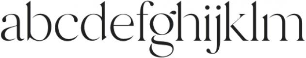 Margot-Regular otf (400) Font LOWERCASE