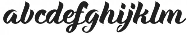 Maria Script Regular otf (400) Font LOWERCASE