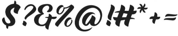 Maria Script Soft otf (400) Font OTHER CHARS