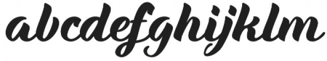 Maria Script Soft otf (400) Font LOWERCASE