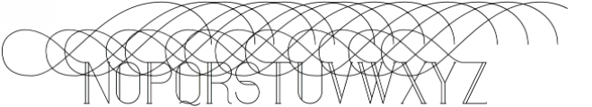 Maria Swashes6 otf (400) Font LOWERCASE