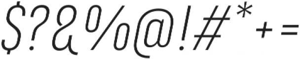 Marianina FY Light Italic otf (300) Font OTHER CHARS
