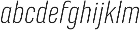 Marianina FY Light Italic otf (300) Font LOWERCASE