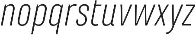 Marianina FY Light Italic ttf (300) Font LOWERCASE
